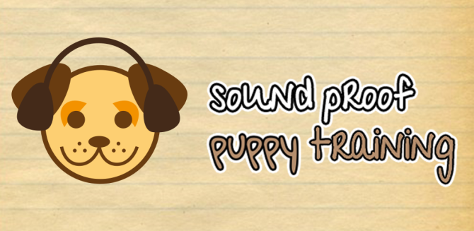 The Soundproof Puppy Training App for Socialisation!