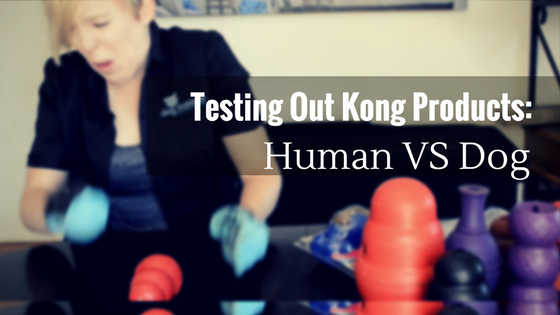 Testing Out Kong Products: Human vs Dog